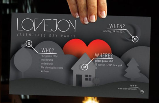 Реклама в почтовых ящиках для посетителей кафе