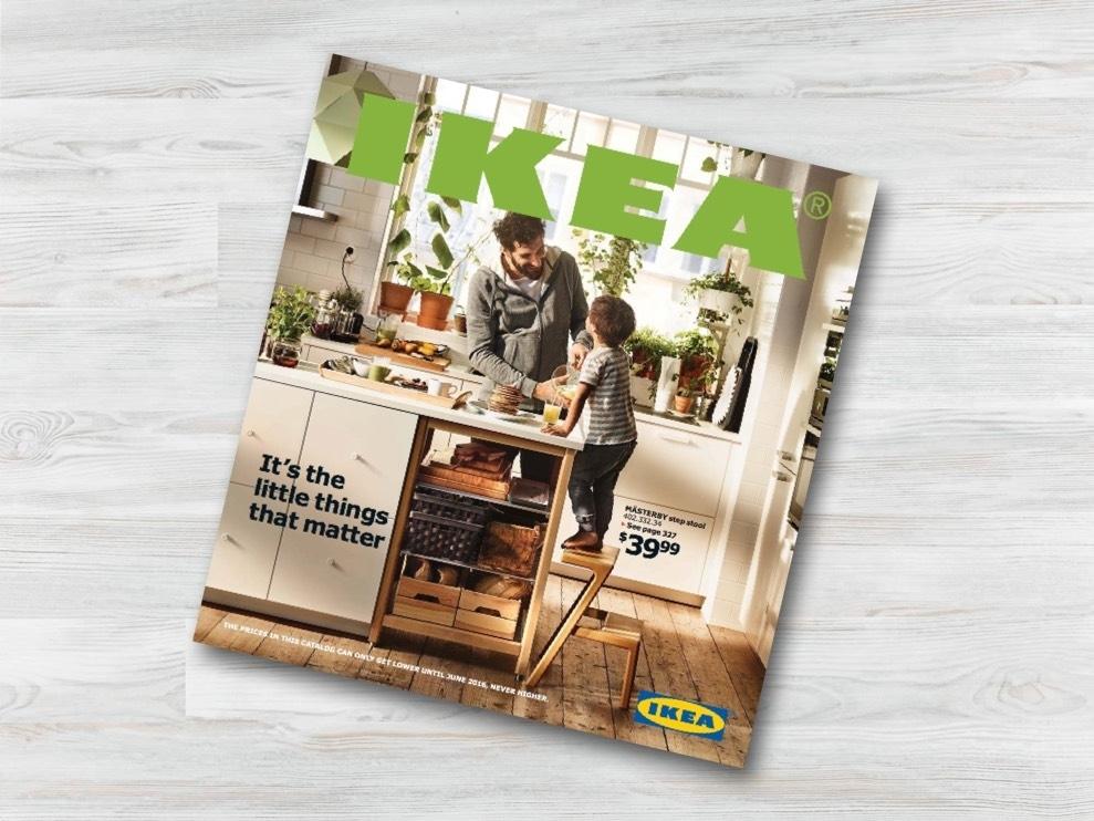 Рассылка журнала ikea