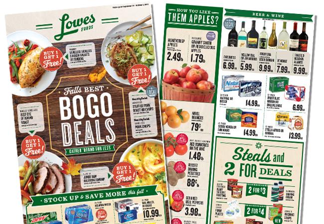 Распространение листовок с рекламой магазинов